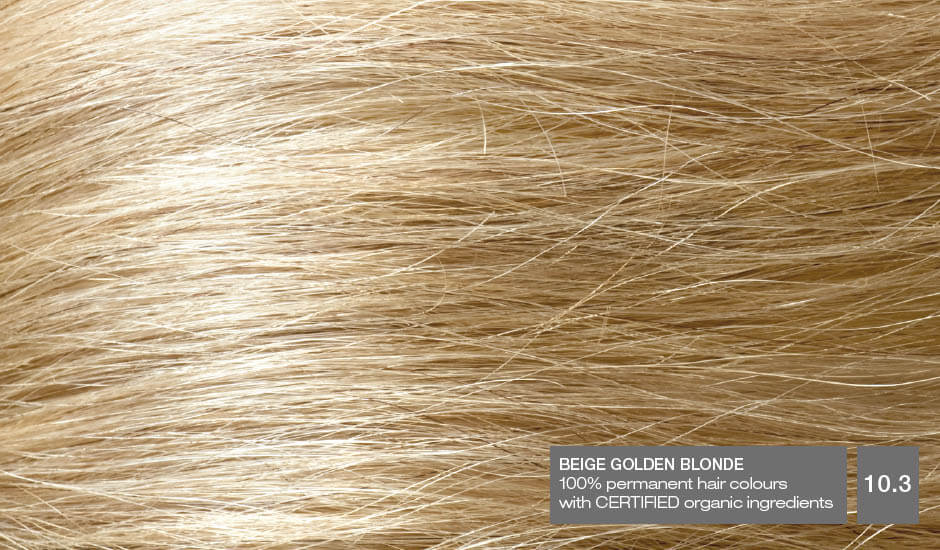 Beige Golden Blonde 10.3_Hair