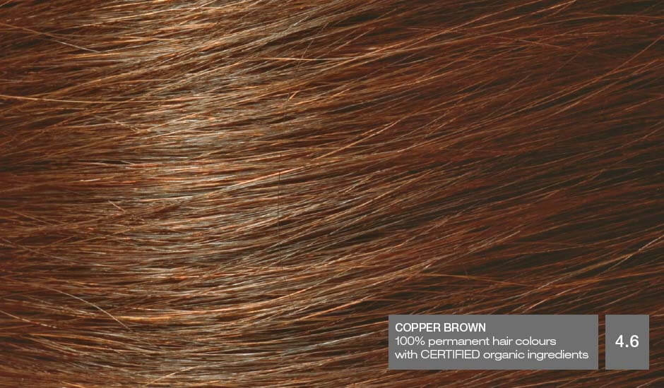 Copper Brown 4.6_Hair