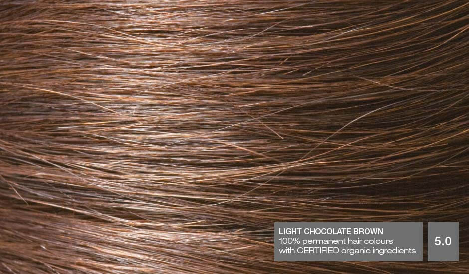 Light Chocolate Brown 5.0_Hair
