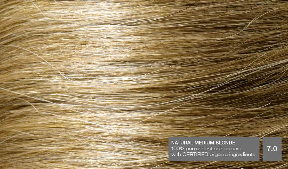 Natural Medium Blonde 7.0_Hair