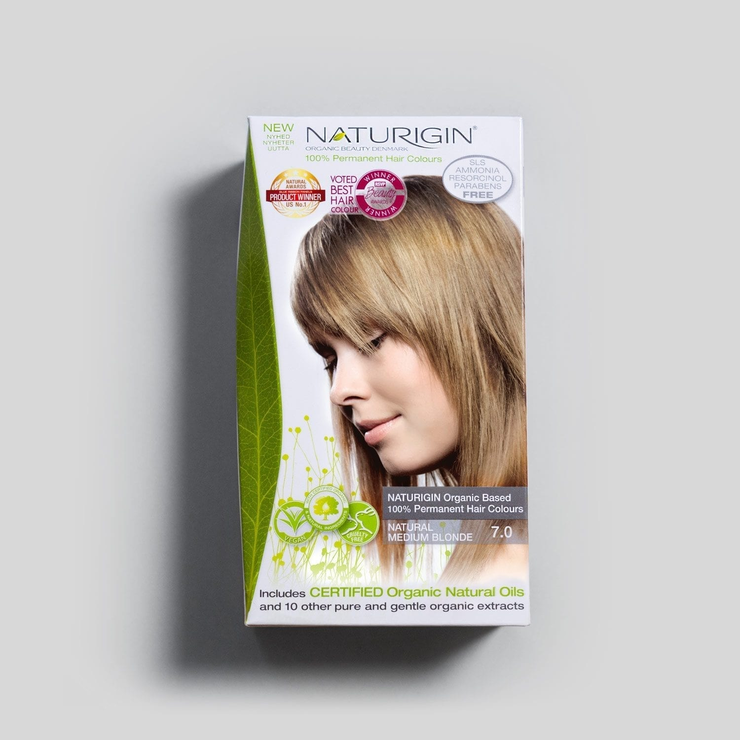 NATURIGIN 7.0 Naturlig Medium Blond