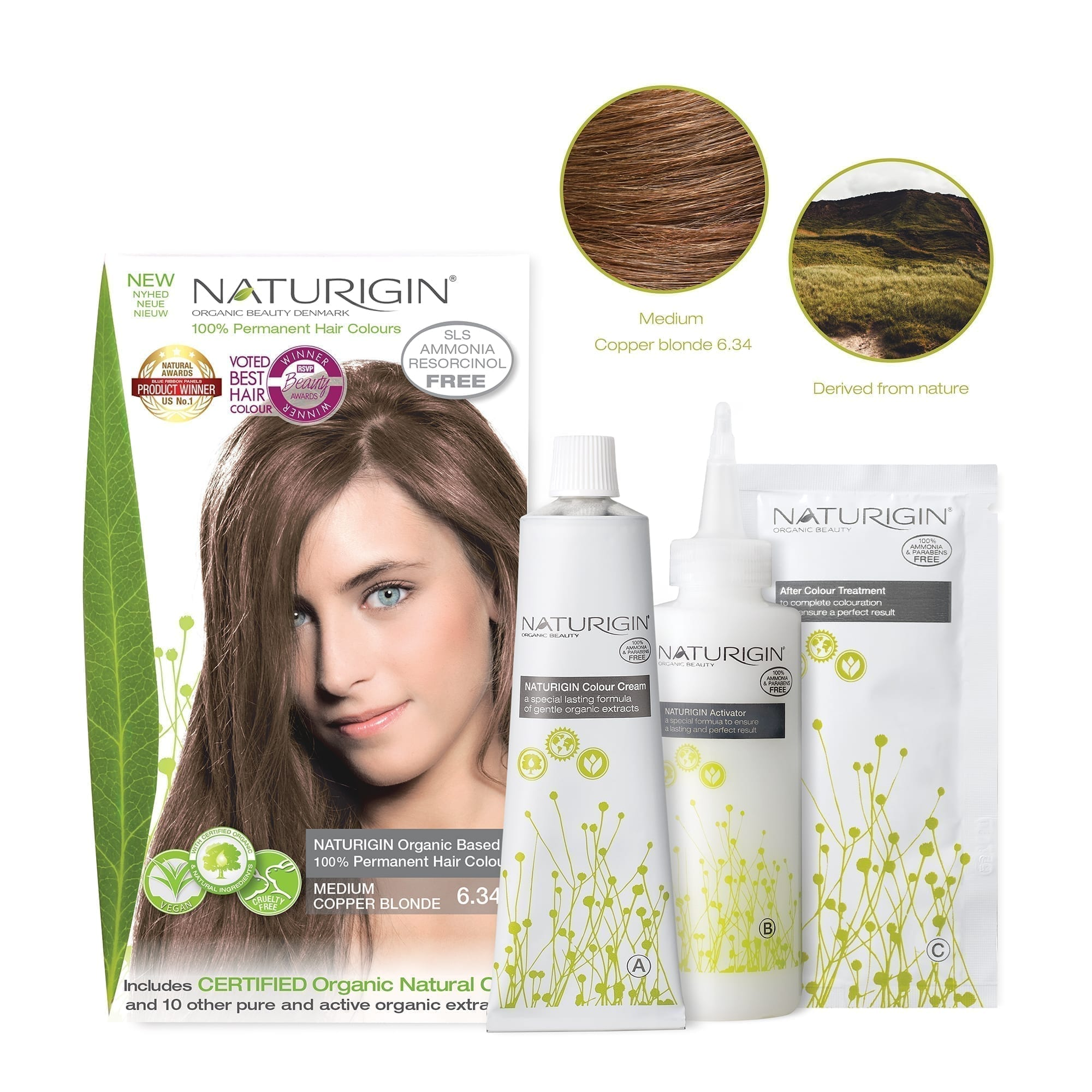 NATURIGIN-6.34-Medium copper blonde