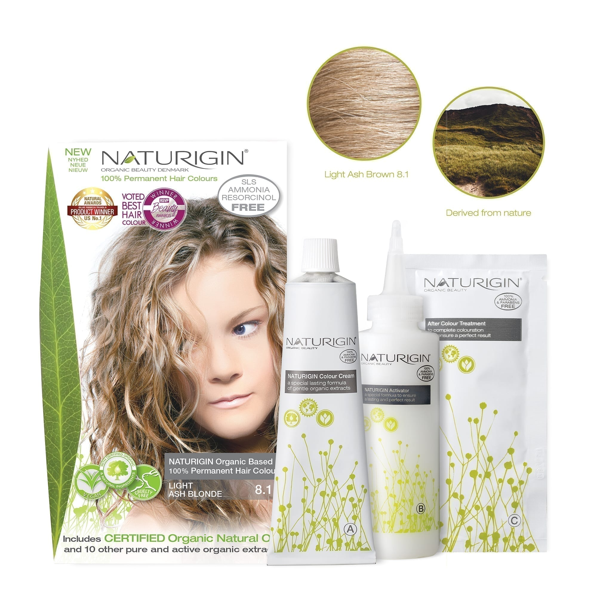 NATURIGIN-8.1-Light ash blonde