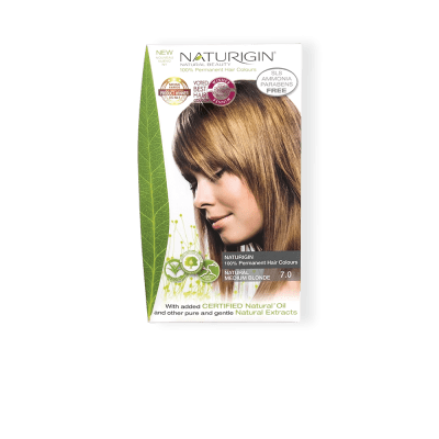 naturlig medium blond - Natural Medium Blonde 7.0